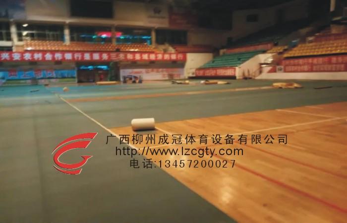 桂林PVC体育场地板