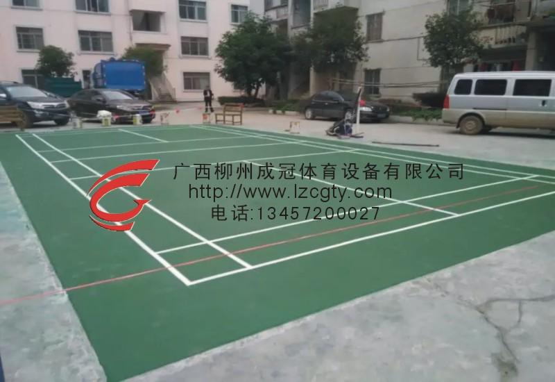 环江洛阳镇羽毛球场