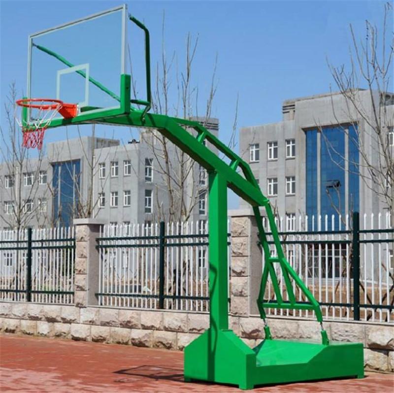 龙胜预埋式篮球架-陆